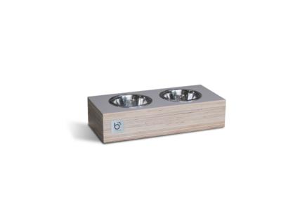 Multiplex etensbak - Licht grijs