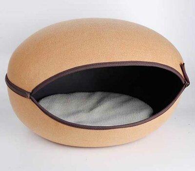Kattenmand Macaron - Beige