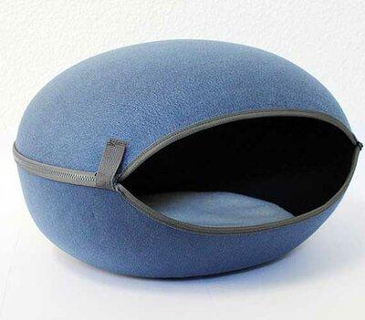 Kattenmand Macaron - Donkerblauw