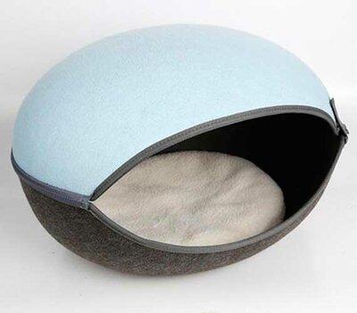 Kattenmand Macaron - Lichtblauw
