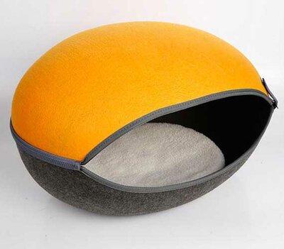 Kattenmand Macaron - Oranje