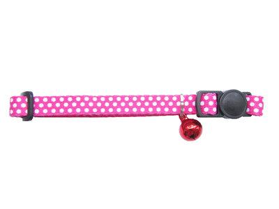 Halsbandje Dots Roze