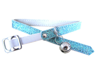 Halsbandje Glitter Aqua